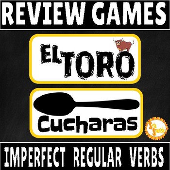 Imperfect Regular Verbs ONLY Review Game Pack