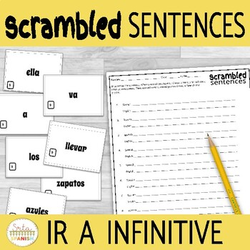 Ir a Infinitive - Scrambled Sentences