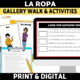 La Ropa Spanish Clothing Activities