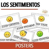 Los Sentimientos Spanish Feelings Posters