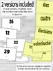 Numbers 1-30 in Spanish ¡Corre en Círculos! Activity