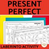 Present Perfect Spanish Maze Practice Activity with DIGITAL Option