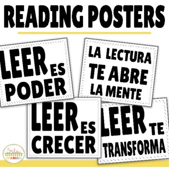Reading Posters in Spanish