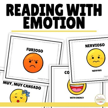 Reading with Emotion Activity for Spanish Class