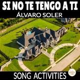 Thanksgiving Song Activity Si No Te Tengo A Ti by Álvaro Soler