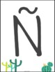 Spanish Alphabet Cactus Theme