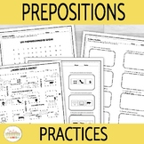 Spanish Prepositions of Location Practices and Activities