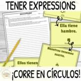 Tener Expressions ¡Corre en Círculos! Activity with DIGITA