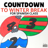 Countdown to Winter Break Classroom Display