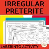 Spanish Irregular Preterite Laberinto Practice Activity
