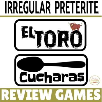 Review Game Pack for Irregular Preterite Verbs