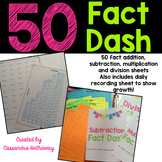 50 Fact Fluency Test
