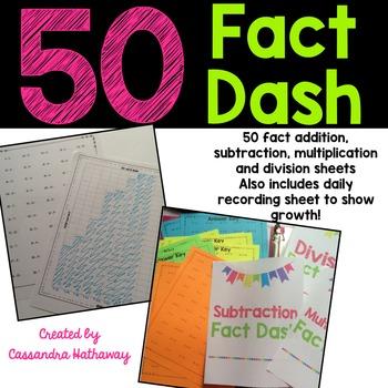 50 Fact Fluency Test