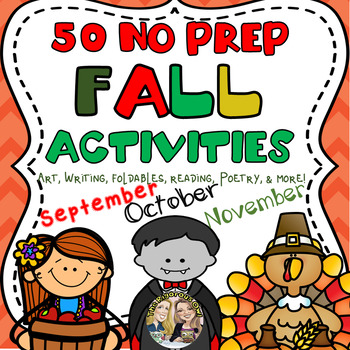 50 Fall Halloween Thanksgiving Activities