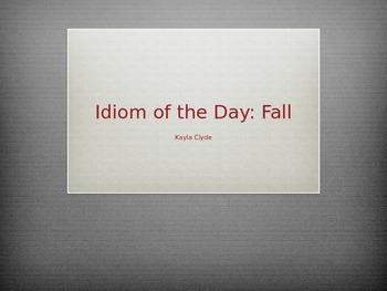 50 Fall Quarter Idioms