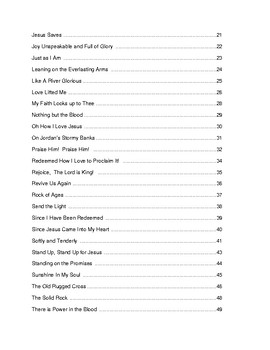 50 Favorite Hymns for Solo and Duet Instruments:  Clarinet-Trumpet