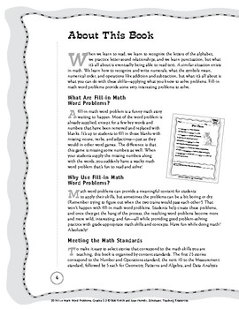 50 Fill-in Math Word Problems: Grades 2-3: 50 Engaging Stories for Students ...