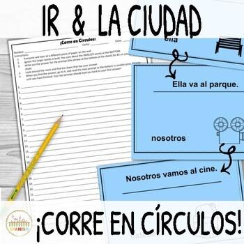 Ir and La Ciudad ¡Corre en Círculos!