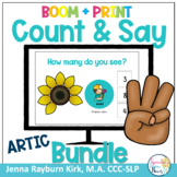 Count & Say Articulation Fall Bundle