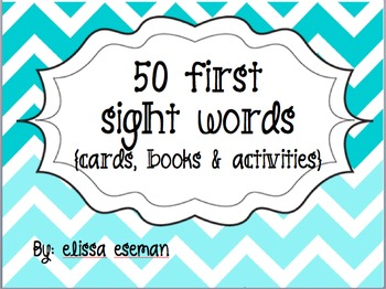 {50 First High Frequency Sight Word with Activities}