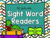 50 Foldable Sight Word Readers
