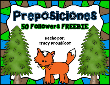 50 Followers FREEBIE - Preposition Posters