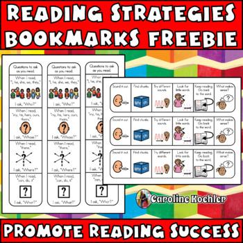 Followers Freebie!!!  Reading Strategies/Comprehension Bookmark