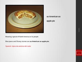 50 Food Idioms with Spanish Translations