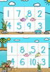 Bingo Numbers 0 - 10 -  Cute Under The Sea Theme