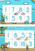 Bingo Numbers 0 - 10 -  Cute Under The Sea Theme