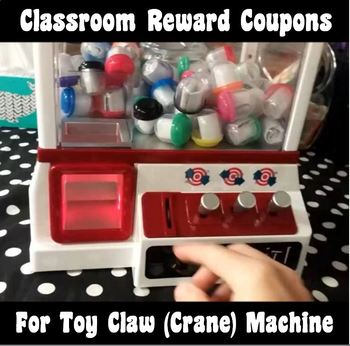 50 Fun & Exciting Reward Coupons made for Toy Claw Machine