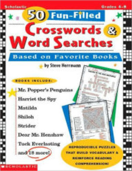 50 Fun-Filled Crosswords& Word Searches HARD COPY
