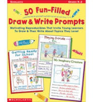 50 Fun - Filled Draw and Write Prompts