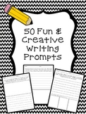 50 Fun and Creative Writing Prompts in Different Writing G