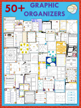 50+ GRAPHIC ORGANIZERS PRINTABLE WORKSHEETS