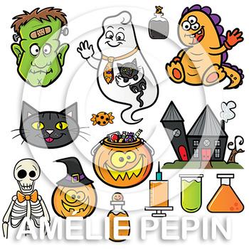 50 Halloween Clip Art