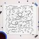 50 Hand Drawn Doodle Swirls   Decorative Flourish Vector Clip Art   AI, EPS