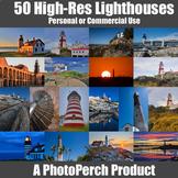 50 High Resolution Lighthouse Stock Photos