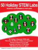 Physics Science Experiment STEM projects MEGA pack #4 - 50 Holiday STEM Labs