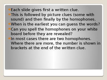 50 Homophone Puzzles
