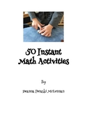 50 Instant Take Home Family Math Bags