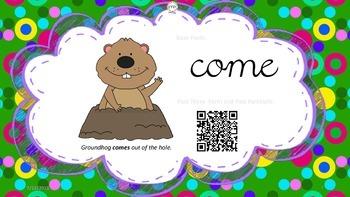 Flash Cards: 50 Irregular Verbs QR Codes Grammar