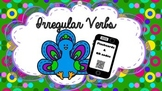 Flash Cards: 50 Irregular Verbs QR Codes Grammar