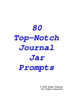 50+ Journal Jar Writing Prompts