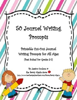 50 Journal Writing Prompts