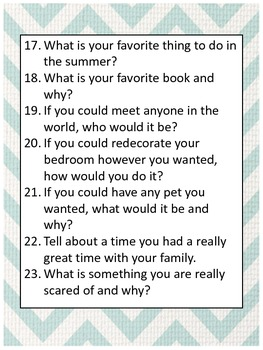 50 Journal Writing Prompts for Grades 5-6