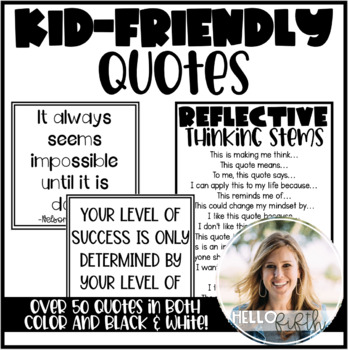 50+ Kid-Friendly Quotes to Prompt Classroom Discussion