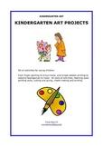 50 Kindergarten Art Projects