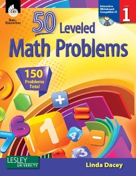50 Leveled Math Problems Level 1 (eBook)