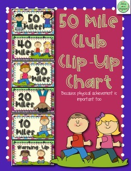 50 Miles Club Clip-Up Chart